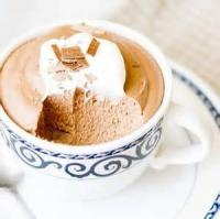 Desserts - Chocolate Mousse For Adults