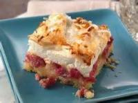 Desserts - Fruit -  Rhubarb Meringue Dessert