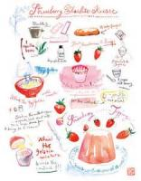 Desserts - Fruit -  Strawberry Charlotte Russe