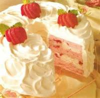 Desserts - Strawberry Bavarian