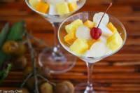 Desserts - Almond Float