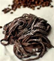 Desserts - Pasta -  Chocolate Pasta