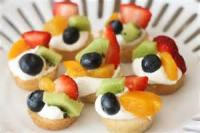 Desserts - Mini Fruit Pizzas
