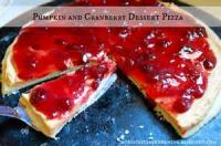 Desserts - Cranberry Pizza