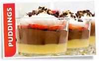 Desserts - Brandy Alexander Parfaits