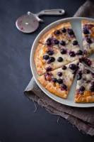 Desserts - Pizza -  Blueberry Pizza