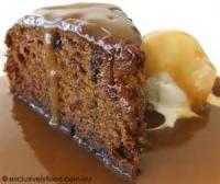 Desserts - Date Pudding