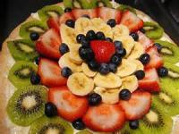 Desserts - Pizza -  Fruit Pizza