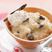 Desserts - Dried Cherry Rice Pudding