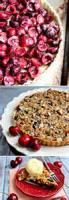 Desserts - Tart -  Cherry Almond Tart