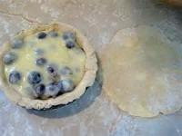 Desserts - Gooseberry Cream Tart