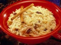 Desserts - Rice Pudding -  President's Rice Pudding