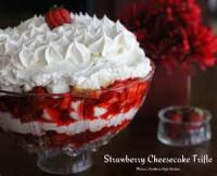 Desserts - Trifle Strawberry Cheesecake