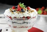 Desserts - No Bake Punch Bowl Cake