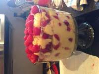 Desserts - Trifle -  Creole Christmas Trifle