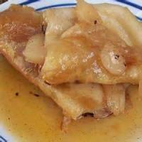 Desserts - Tortilla -  Apple Or Cherry Tortilla Dessert