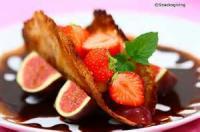 Desserts - Almond Tuille