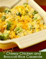 Casseroles - Rice -  Cheesy Rice Casserole