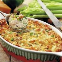 Casseroles - Poultry Chicken Strata