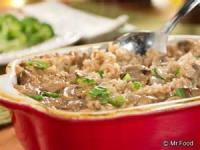 Casseroles - Rice -  Baked Mushroom Rice