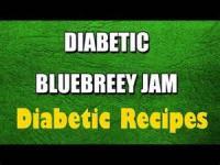 Diabetic - Jam -  Blueberry Jam