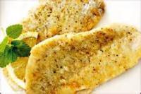 Diabetic - Seafood -  Lemon And Parmesn Fish