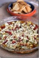 Dips - Cheese Mediterranian Dip With Pita Chips