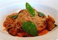 Diabetic - Pasta -  Mostaccioli With Eggplant Sauce (diabetic)