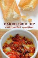 Dips - Cheese -  Baked Brie Dip