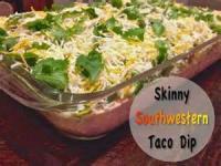 Dips - Southwestern Taco Dip