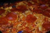 Casseroles - Sausage -  Pizza Casserole
