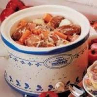 Casseroles - Sausage And Sauerkraut Supper
