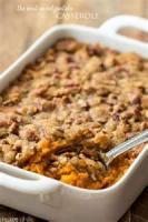 Casseroles - Vegetable -  Sweet Potato Casserole Sans Nuts
