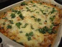Casseroles - Vegetable Spaghetti Squash Italian Casserole