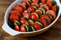 Casseroles - Vegetable -  Tomato And Zucchini Gratin