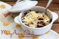 Chili - Chili Recipes By Ann