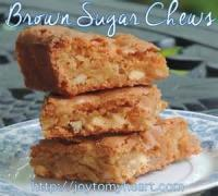 Cookies - Brown Sugar Chews