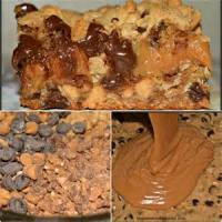Cookies - Chocolate Toffee Caramel Bars
