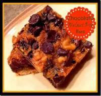 Cookies - Bars -  Chocolate Walnut Pie Bars