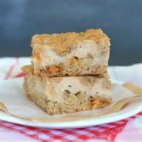 Cookies - Butterscotch Cheesecake Bars