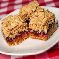 Cookies - Cranberry Meringue Bars