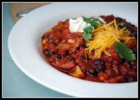 Chili - Vegetaria Black Bean Chili