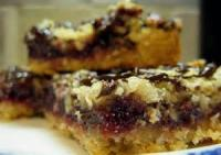 Cookies - Chocolate Raspberry Streusel Squares