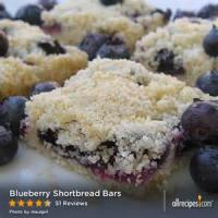 Cookies - Bars -  Blueberry Picnic Bars