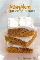 Cookies - Frosted Pumpkin Squares