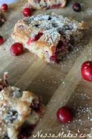 Cookies - Cranberry Squares