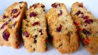 Cookies - Cranberry Orange Walnut Biscotti