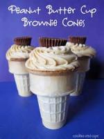 Cookies - Brownie Ice Cream Cone