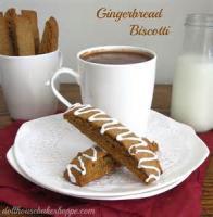 Cookies - Gingerbread Biscotti