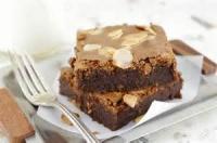 Cookies - Brownies -  Amaretto Brownies